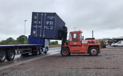 Container Delivery to Site!
