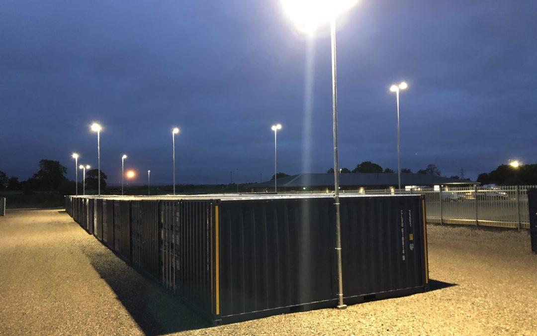 egg self storage units night time access site accessible and well lit